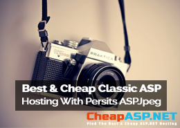 Best and Cheap Classic ASP Hosting With Persits ASPJpeg