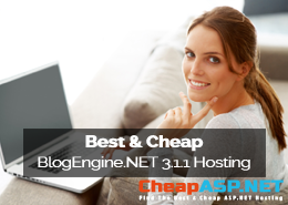 Best and Cheap BlogEngine.NET 3.1.1 Hosting
