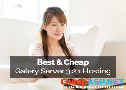 Best and Cheap Gallery Server Pro 3.2.1 Hosting