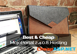 Best and Cheap MojoPortal 2.4.0.8 Hosting